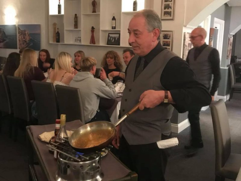 La Tavernetta Italian Restaurant - Folkestone. Kent